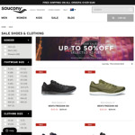 Saucony Freedom ISO $150 (Was $250), Triumph ISO 4 Denim Tech $160 (Was $250) + More @ Saucony