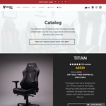 [Gaming Chairs] EOFY Sale - Titan $539 - Omega $489 - Throne $439 + Free Shipping @ Secret Lab
