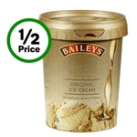 ½ Price Baileys Ice Cream Tubs $4 @ Woolworths