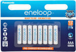 [eBay Plus] 8-Pack Eneloop Rechargeable AAA (Min 750mAh) $19.50 Delivered (Express) - Made in Japan @ Scrub Shop eBay