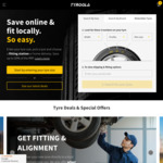 All Tyres 20% off - Starting at $26 @ Tyroola.com.au