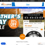 20% off Tyres for Father's Day @ Tyresales.com.au