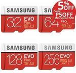 Samsung EVO Plus MicroSD 256GB $83.70 Delivered @ Flash Pro eBay