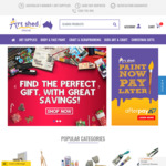 20% off Stationery and Art Supplies @ Art Shed Online