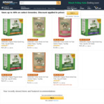 40% off Selected Greenies Dog Dental Treats Value Pack (Free with $49+ Spend or Prime) @ Amazon AU