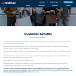 Resimac Customer Benefit Program (Must Be a Homeloan Customer with Resimac). 5% off Good Guys, 10% off Priceline