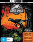 Jurassic Park: 5 Movie Collection 4K $53.45 Delivered @ Amazon