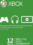 12 Month Xbox Live Gold Membership (Xbox One/360) AU $56.89 (AU $55.18 with 3% FB Code) @ CD Keys