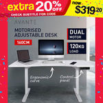 160cm Electric Height-Adjustable Standing Desk $319.20 Delivered (Selected Metro Areas) @ Mytopia eBay