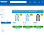 Chug Drink Bottle 2200ml $5 @ Officeworks