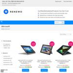 $250 off on All Refurbished Microsoft Surface: from $449 + Free Standard Shipping+ Free 90 Days Warranty @ RenewdAU