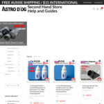 Free Delivery and Insurance for Total Amount of the Order @ Astro Dog