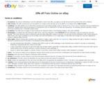 20% off @ Futu Online eBay