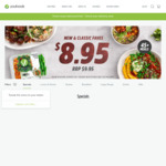 7 Meals for $37.65 Delivered ($25 off $59 Spend) @ Youfoodz