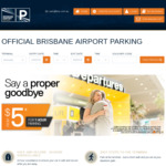 12% off Guaranteed Space, ParkPremium and ParkValet @ Brisbane Airport