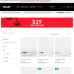 Dunlop Volley Shoes (International Canvas) $29 + $10 Shipping (Free for Orders over $59.95) @ Volleys