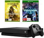 Xbox One X 1TB + Mortal Kombat 11 + Crackdown 3 Bundle $509.15 (eBay Plus) $539.10 (Non Plus) @ Big W eBay