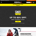 20% off Full Priced Items at Superdry.com.au