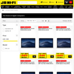 "10% off Apple Computers at JB HiFi - MacBook Pro 15"" with Touch Bar, Core i5 + 512GB $3,689.10 (Excludes Build to Order)"