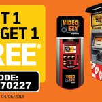 Rent 1 Get 1 Free DVD Rental @ Video Ezy Kiosks