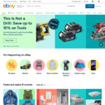 10% off Sitewide - eBay/WISH Gift Cards (Expired), Officeworks/Target & Auto Parts (Min Spend £50, Max Discount £100) @ eBay UK