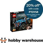 LEGO Technic 6x6 All Terrain Tow Truck 42070 $321.76 Delivered @ Hobby Warehouse eBay