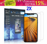 2x Nuglas Tempered Glass for iPhones from $3.50 Delivered @ Gearbite eBay