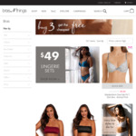 Free Shipping on All Orders (No Minimum Spend) @ Bras N Things