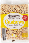 Roasted & Salted Cashews 1kg - $16.99 @ ALDI