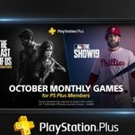 [PS4] PS Plus October 2019 - The Last of Us Remastered + MLB The Show 19 @ PlayStation