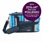 2 x 28L Insulated Cooler Bags with Gel Ice Pack Blue $16 + $14.95 Shipping (Free with Plus) @ Shopping Square via eBay