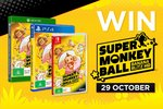 Win 1 of 6 XB1/PS4/Switch Copies of Super Monkey Ball Banana Blitz HD from EB Games