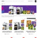 Save up to 40% on Selected Lavazza Coffee Machines and Capsules - Click Frenzy Sale @ A Modo Mio