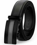 Men's Leather Belt - US $11.99/ $17.53 AUD Shipped @ Jasgood (HK)