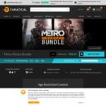 [PC, Steam] Metro Redux Bundle $6.69 @ Fanatical