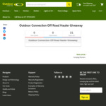 Win an Off Road Hauler Valued at $179.95 from Outdoor Connection