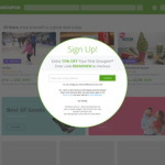 10% off Sitewide @ Groupon (Combine with 15% ShopBack Cashback)