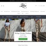 The Zebra Effect Women's Fashion Store - 40% off Refuge Denim + Free Shipping over $75