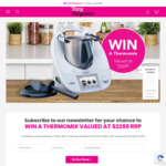 Win a Thermomix TM6 Bundle Worth $2,269 from TerryWhite Chemmart