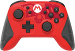 Nintendo Switch HORI Mario Edition Wireless Rechargeable Controller $69 (was $79) @ EB Games