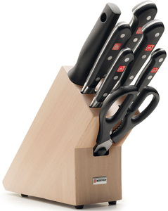 Wusthof Classic 8 Piece Knife Block Set 369 99 Incl Delivery Costco Online Membership Required Ozbargain