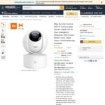 Xiaomi Mijia Pan Tilt Camera H265 (Global Baby Monitor Version) $42.49 Delivered @ MCorz-Seller via Amazon AU