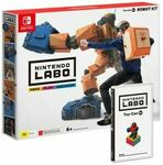 [Switch] Nintendo Labo Robot Kit $29, Vehicle Kit $29, Collection of Mana $29 + Delivery (Free with eBay Plus) @ EB Games eBay