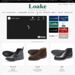 15% off Entire Order: Goodyear Welted Full Leather Shoes from $159 + Shipping (Free Shipping over $200) @ Loakes Shoes
