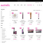$3 Sale Steals (Including $24.95 GRLBOSS Eyeshadow Palette) + $9.95 Shipping/Free with $50 @ Australis Cosmetics