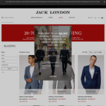 $50 off $250+, Blazers from $79.60 + Free Shipping at Jack London Online