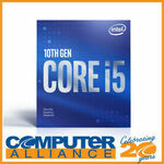 [Afterpay] Intel Core i5-10400 CPU 6 Cores/12 Threads (2.9GHz-4.3GHz) $254.15 Delivered @ Computer Alliance eBay