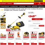 Dewalt DCM561P1-XE 18V 5.0ah XR Li-Ion Cordless Brushless Straight Line Trimmer Combo Kit $249 + Del (Free C&C) @ Sydney Tools