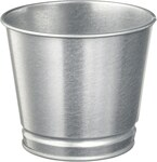 BINTJE Galvanised 9cm Plant Pot $0.80 (Was $1) @ IKEA