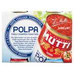 Mutti Polpa Finely Chopped Tomatoes 2 Pack $2 @ Coles